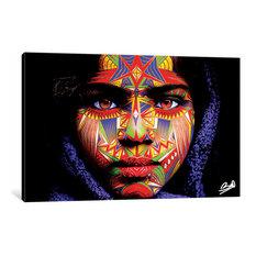 """Ileana"" by Baro Sarre Canvas Print, 18""x26"""