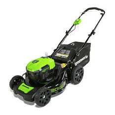 Brushless Cordless Lawn Mower, Efficient 40V Lithium Battery System