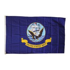 Navy, 3'x5' Polyester Flag