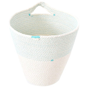 Indoor Cotton Rope Hanging Pot, Small