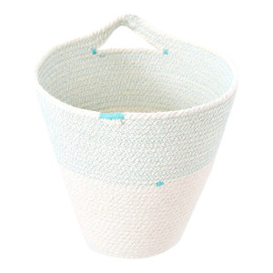 Indoor Cotton Rope Hanging Pot, Large