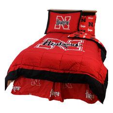 Nebraska Huskers Reversible Comforter Set, Full