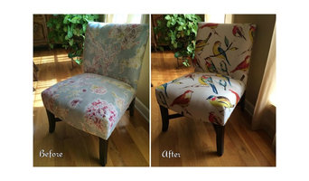 Upholstery Before After