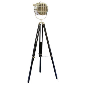 Searchlight With Chrome Finish Floor Lamp