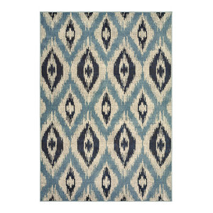 "Oriental Weavers Sphinx Linden 7825C Rug, Blue/Gray, 5'3""x7'6"""