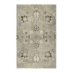 """Rizzy Home Leone Collection Rug, 2'6""""x8'"""