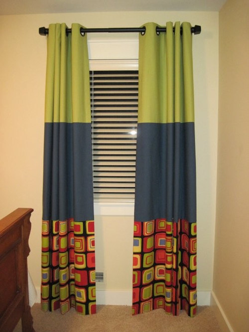 grommet top drapery - Curtains