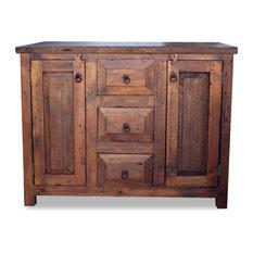 FoxDen Decor - 3-Drawer Reclaimed Wood Vanity, 36