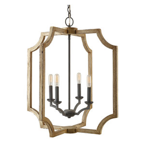 "Capital Lighting 530641 4 Light 25"" Wide Taper Candle Chandelier"