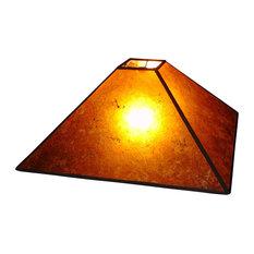 Lamp Shade Amber Mica
