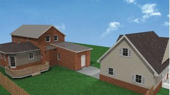 Bigley Residence - New Addition, New Garage & Remodeling