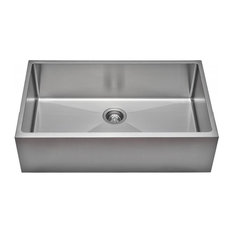 Wells Sinkware Single Apron Farm Sink Pack, Stainless Steel, Sink Only