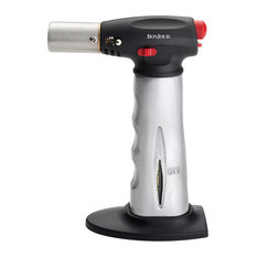 Bonjour Cr?me Brulee Aluminum Culinary Torch With Fuel Level Indicator