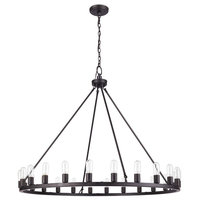 Oil Rubbed Bronze 24-light Chandelier