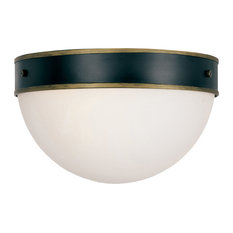 Brian Patrick Flynn for Crystorama Capsule Outdoor 2-Light Ceiling Mount