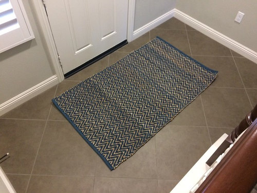 Need Help With Entryway Rug Size