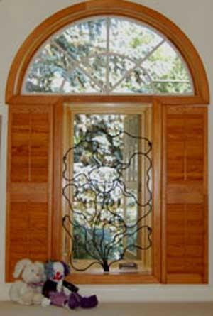 Security- Custom Security Bars- Decorative Security