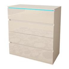 Euphoria 08 Modern Dresser White