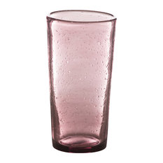 Bubble Highball Tumblers, Set of 4, Amethyst