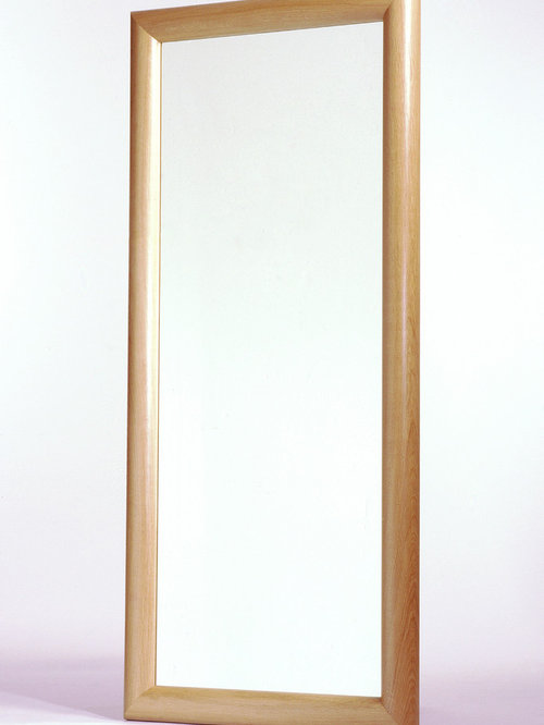 Large European Oak Framed Mirror designed and made by Tim Wood
