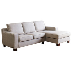 Transitional Sectional Sofas by Abbyson Living