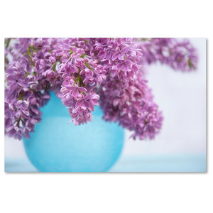 Cora Niele Lilacs In Blue Vase Iii Canvas Art Contemporary Prints And Posters By Trademark Global Houzz