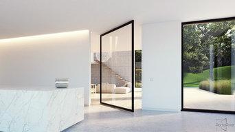 Internal Pivot Doors