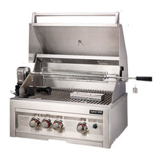 """28"""" Infrared 3 Burner Gas Grill With Lights, Liquid Propane"""