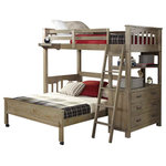 3623ed71b5471 American Woodcrafters Provo Twin Over Full Loft Bed