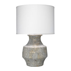 Rustic Modern Masonry Table Lamp by Jamie Young