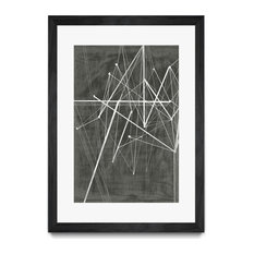 """Vertices II"" Matted and Framed"