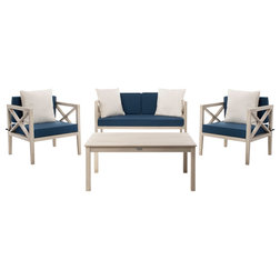Transitional Outdoor Lounge Sets by Safavieh