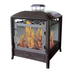 Aspen Square Fireplace