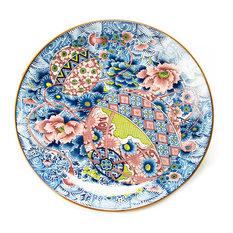 Botan Karakusa Porcelain Japanese Platter