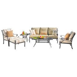 Mediterranean Outdoor Lounge Sets by Sirio North America Inc