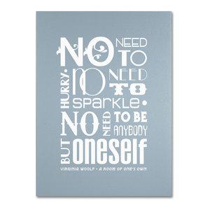 ced5e5f7b1c7 No Need to Sparkle I  Canvas Art by Megan Romo - Contemporary ...