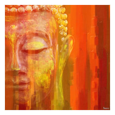 """Buddha"" Fine Art Canvas Print, 40""x40"""