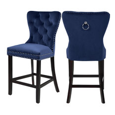 Prime 50 Most Popular Blue Bar Stools And Counter Stools For 2019 Machost Co Dining Chair Design Ideas Machostcouk