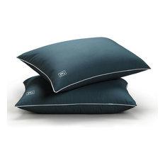 Med/Firm Down Alternative Side/Back Sleep Pillow, King, Down Alt Firm, Set of 2