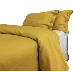 Contemporary Duvet Covers And Duvet Sets by SuperiorLinensHandmade