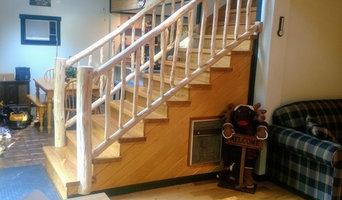 Birch Staircase