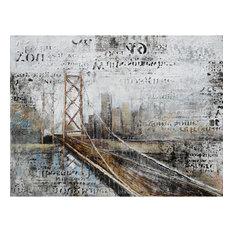 Yosemite Artwork,  Across The Bridge