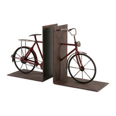 Renee Bicycle Book Ends, Set of 2