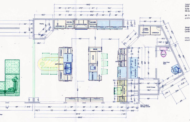 Vintage Floor Plan Two Kitchen Islands Create the Ideal Place to Entertain uc