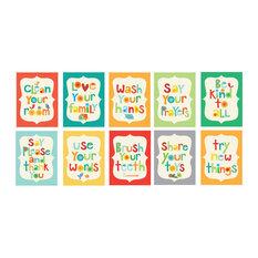 Good Manners 10-Piece Card Set