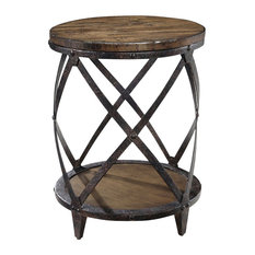 Magnussen Home Furnishing   Pinebrook Round Accent Table   Side Tables And End  Tables