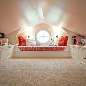 White Attic Playroom