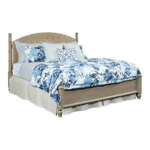 American Drew Litchfield California King Currituck Low Post Bed By American  Drew