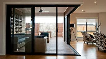 Corner Entry Sliding door