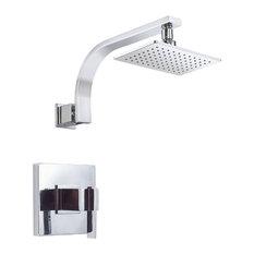 Danze Sirius Shower Faucet, Polished Chrome, D512544T